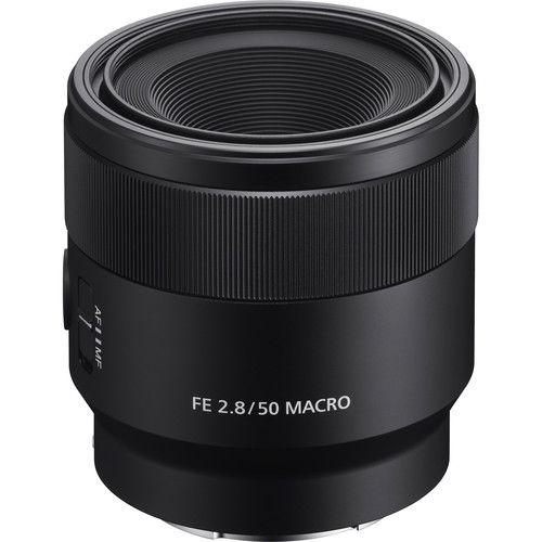 Lente Sony SEL FE 50mm f/2.8 Macro