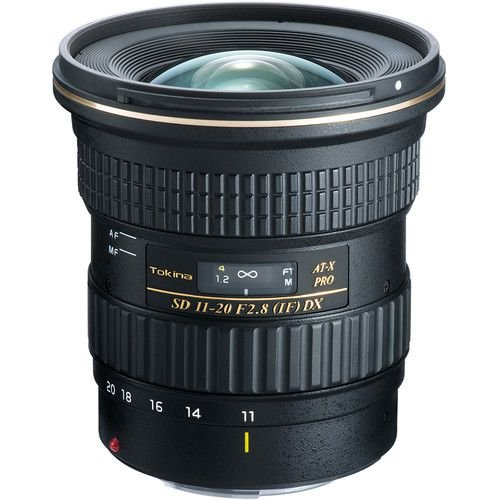 Lente Tokina AT-X PRO DX 11-20mm f/2.8 para Canon