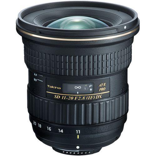 Lente Tokina AT-X PRO DX 11-20mm f/2.8 para Nikon F