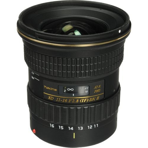 Lente Tokina AT-X 116 PRO DX-II 11-16mm f/2.8 para Canon