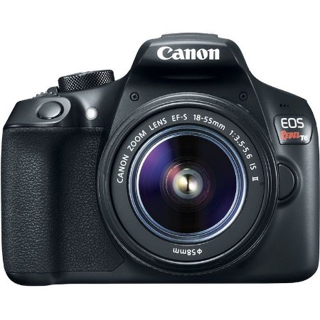 Câmera Canon EOS Rebel T6 com Lente 18-55mm IS II