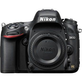 Câmera Nikon FX D610 somente corpo