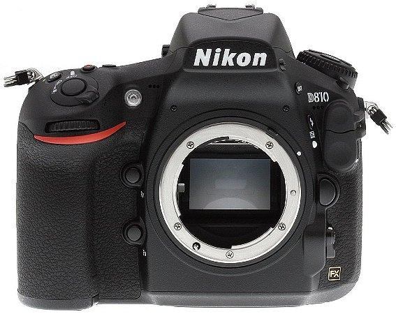 Câmera Nikon FX D810 Corpo