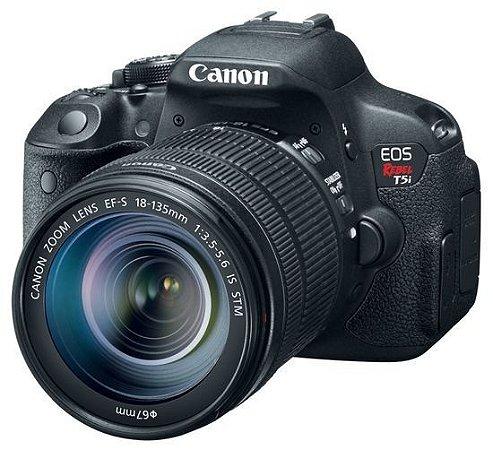 Câmera Canon EOS Rebel T5i com Lente 18-135mm STM