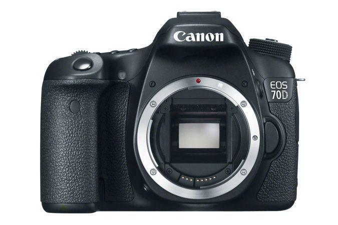 Câmera Canon EOS 70D com Wi-Fi Corpo