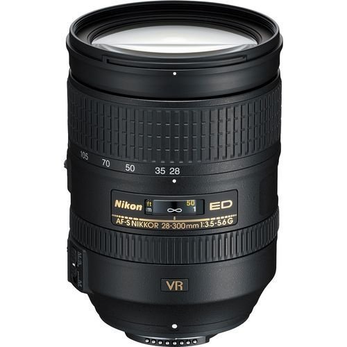 Lente Nikkor AF-S FX 28-300mm f/3.5-5.6G ED VR