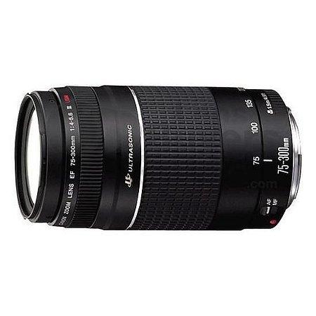 Lente Canon EF 75-300mm f/4-5.6 III USM