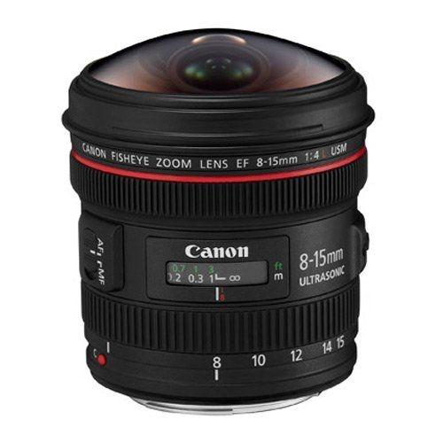 Lente Canon EF 8-15mm f/4L USM Fisheye