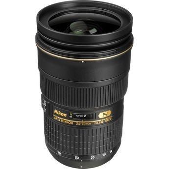 Lente Nikkor AF-S FX 24-70mm f/2.8G ED