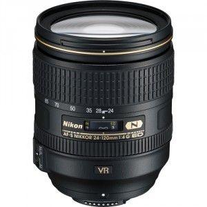 Lente Nikkor AF-S FX 24-120mm f/4G ED VR