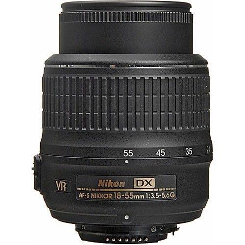 Lente Nikkor AF-S DX 18-55mm f/3.5-5.6G VR