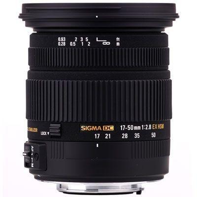 Lente Sigma DC 17-50mm f/2.8 EX OS HSM para Canon