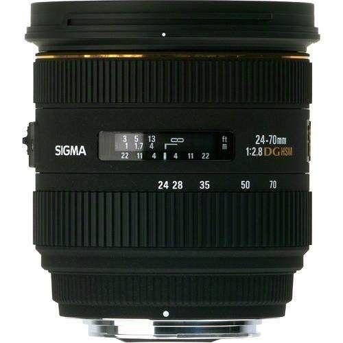 Lente Sigma DG 24-70mm f/2.8 IF EX para Canon