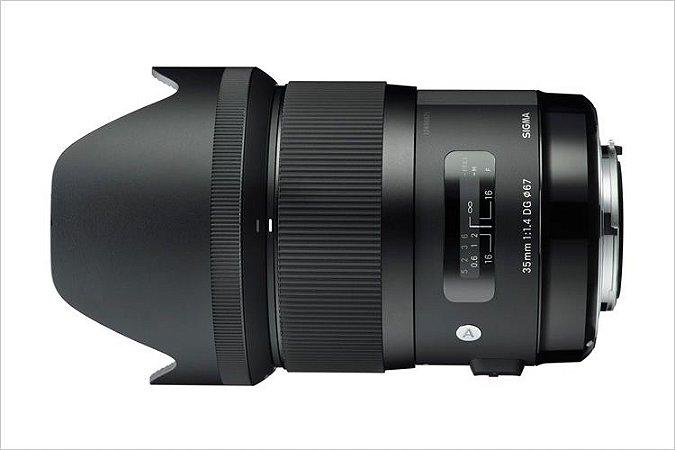 Lente Sigma DG 35mm f/1.4 HSM série ART para Canon