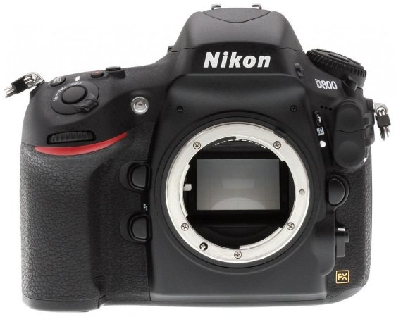 Câmera Nikon FX D800 Corpo