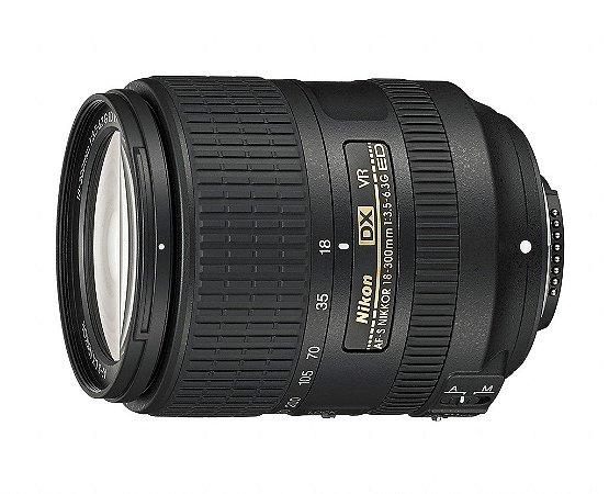 Lente Nikkor AF-S DX 18-300mm f/3.5-6.3G ED VR
