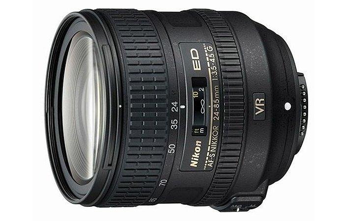Lente Nikkor AF-S FX 24-85mm f/3.5-4.5G ED VR