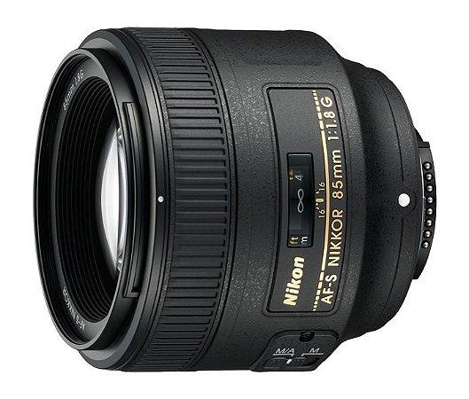 Lente Nikkor AF-S FX 85mm f/1.8G