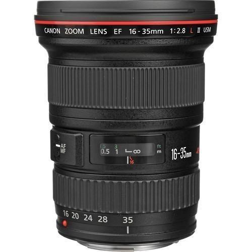 Lente Canon EF 16-35mm f/2.8L II USM