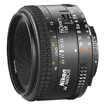 Lente Nikkor AF-S FX 50mm f/1.8D