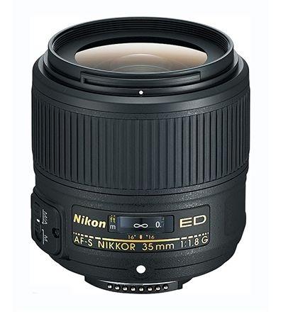 Lente Nikkor AF-S FX 35mm f/1.8G ED
