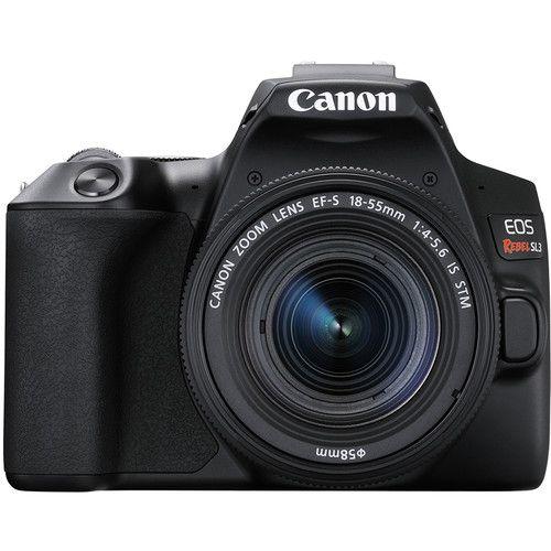 Câmera Canon EOS Rebel SL3 com Lente EF-S 18-55mm f/4-5.6 IS STM