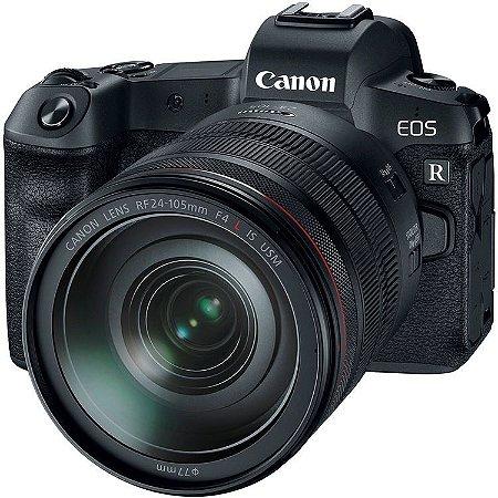 Câmera Canon EOS R + Lente RF 24-105mm f/4L IS USM