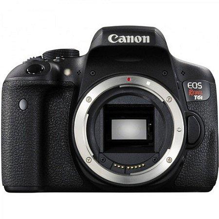 Câmera Canon EOS Rebel T6i Corpo