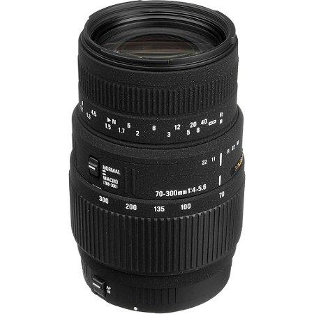 Lente Sigma DG 70-300mm f/4-5.6 Macro para Nikon