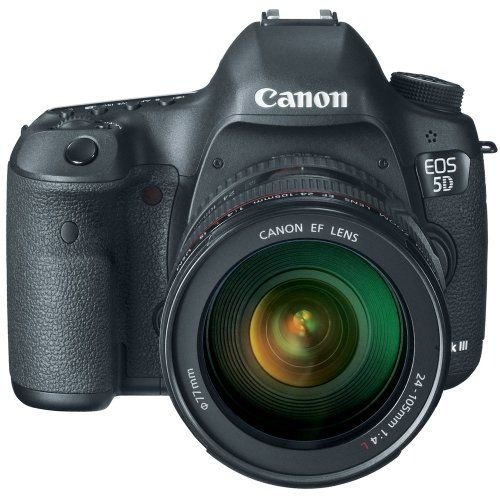 Câmera Canon EOS 5D Mark III com Lente EF 24-105mm f/4L IS USM