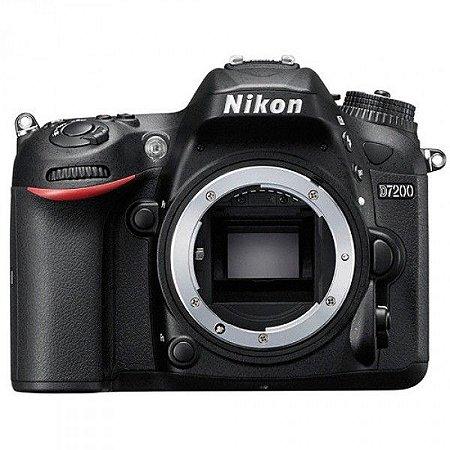 Câmera Nikon DX D7200 Corpo