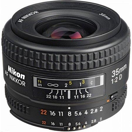 Lente Nikkor AF FX 35mm f/2D
