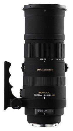 Lente Sigma DG 150-500mm f/5-6.3 para Canon