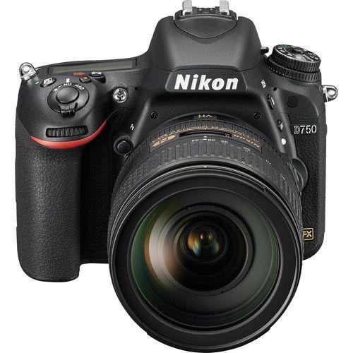 Câmera Nikon FX D750 com Lente AF-S FX 24-120mm f/4G ED VR