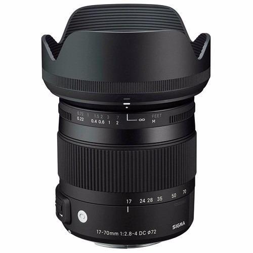Lente Sigma DC 17-70mm f/2.8-4 Macro OS HSM para Nikon