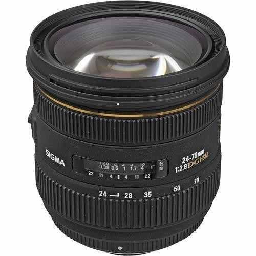 Lente Sigma DG 24-70mm f/2.8 IF EX para Nikon