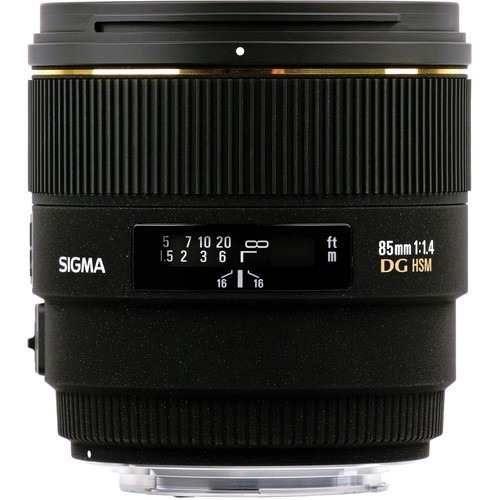 Lente Sigma DG 85mm f/1.4 EX HSM para Nikon