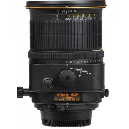 Lente Nikkor PC-E 24mm f/3.5D ED Tilt-Shift