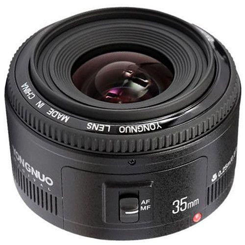 Lente Yongnuo YN-35mm f/2 para Canon