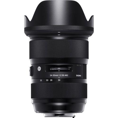 Lente SigmaDG 24-35mm f/2 HSM Art para Canon