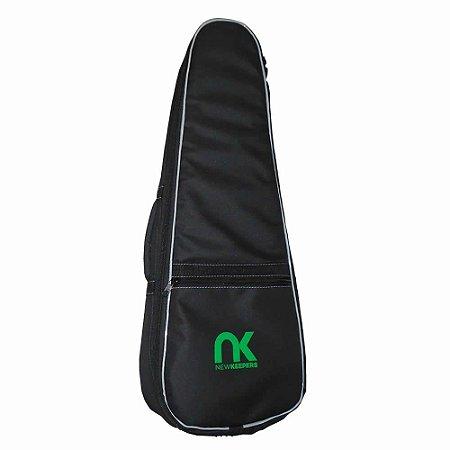 Capa Bag Ukulele Soprano Basic Nylon 600 Preto NewKeepers