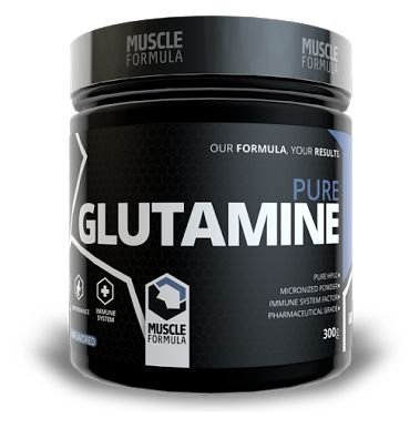 Glutamina MUSCLE FORMULA - 300g