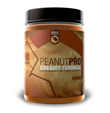 PEANUT PRO (pasta de amendoim gourmet com Whey Protein Isolado) - 500g
