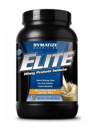 Elite Whey Protein Isolate Dymatize - 900g