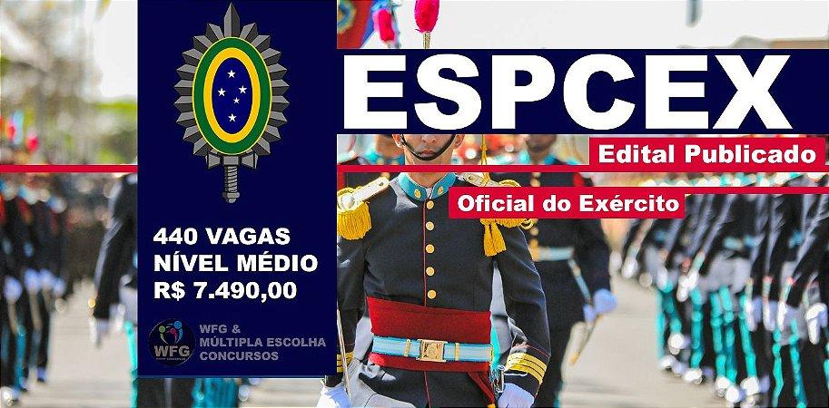 CURSO ESPCEX - CADETES DO EXÉRCITO - Completo - Edital Publicado!