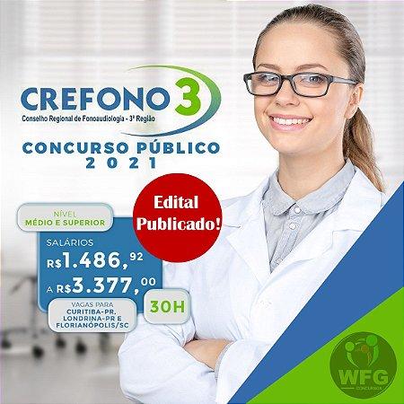 CURSO ONLINE - CREFONO - Conselho Regional de Fonoaudiologia - Edital Publicado ( Assistente Administrativo )