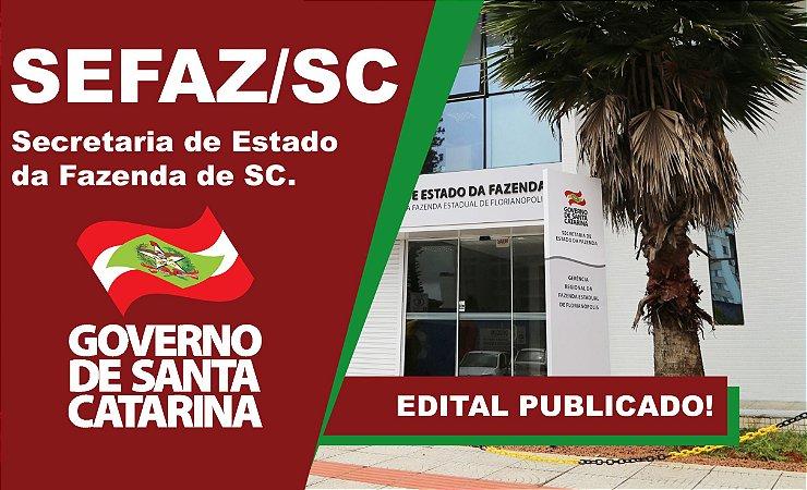 CURSO ONLINE - SEFAZ/SC - ANALISTA DA RECEITA ESTADUAL ( AULÃO RETA FINAL )