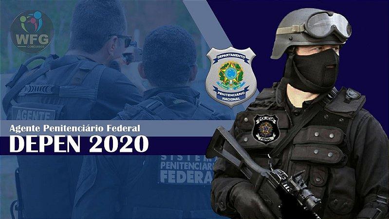 CURSO ONLINE DEPEN RETA-FINAL 2020 PÓS-EDITAL - AGENTE PENITENCIÁRIO FEDERAL CARGO 8 - NÍVEL MÉDIO (( PROMOÇÃO RELÂMPAGO))
