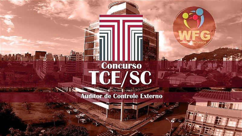 CURSO  PRÉ E PÓS EDITAL : TCE/SC - AUDITOR DE CONTROLE EXTERNO -  ADMINISTRADOR E ADVOGADO - (( PROMOÇÃO DE VOLTA PARA OS ESTUDOS))
