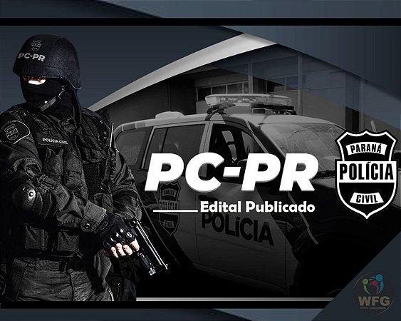 CURSO ONLINE - RETA FINAL -  POLÍCIA CIVIL - PC/PR - CARGO INVESTIGADOR / PAPILOSCOPISTA  - PONTOS IMPORTANTES